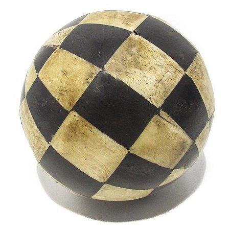 Bola Decorativa Ornamental Osso Antica