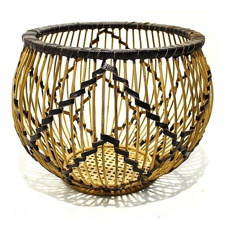 Cesto Decorativo Bambu P Antica