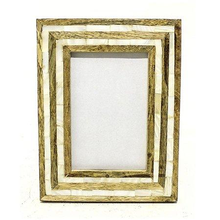 Porta Retrato Madrepérola I Antica