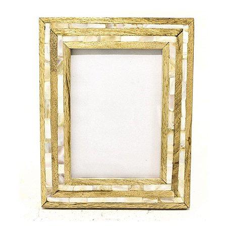 Porta Retrato Madrepérola II Antica