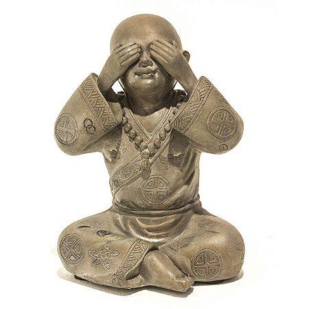 Escultura Monge Não Vejo City