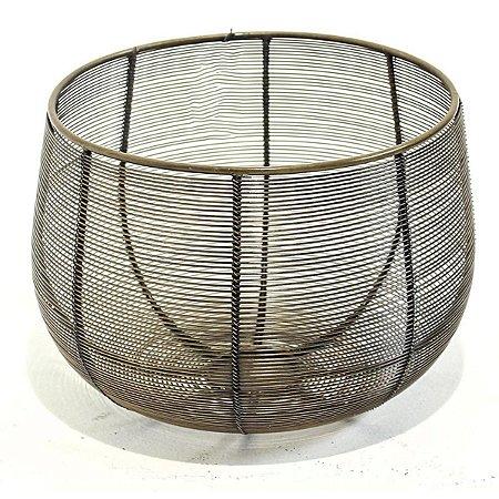 Vaso Metal Vazado M City
