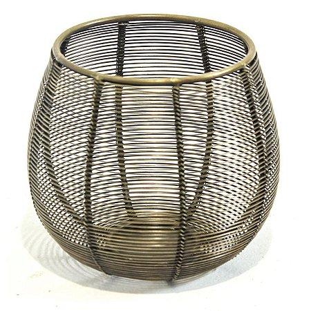 Vaso Metal Vazado P City