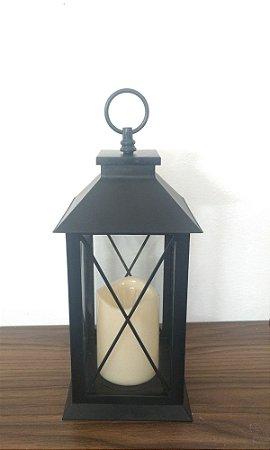 Lanterna Preta c/ Vela