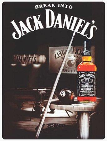 Placa Jack Daniels Sinuca Tecnolaser