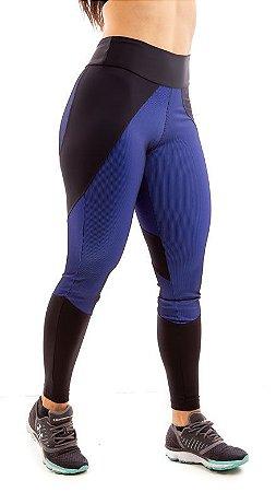 Legging Efeito 3D Darkan - Azul