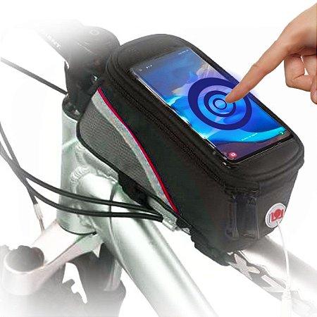 Bolsa Porta Celular Quadro Bike 9x19 6 POL