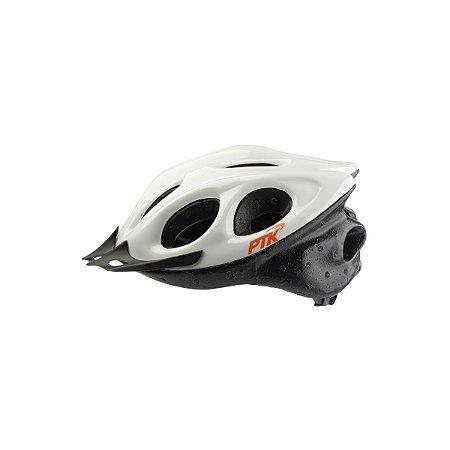 Capacete Adulto Ciclismo Branco c/ Regulador