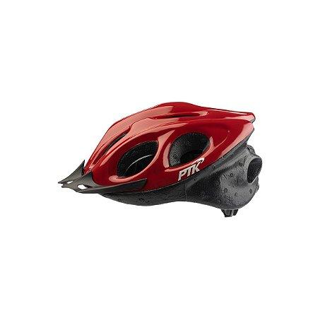 Capacete Adulto Ciclismo Vermelho c/ Regulador