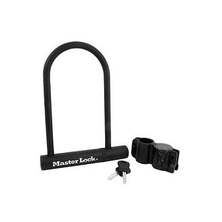 Cadeado U-lock Anti Furto Com Cabo de Aço Para Bicicletas e Motos
