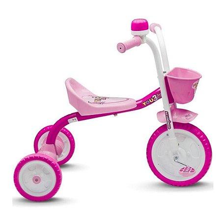 Triciclo Básico You 3 Girl