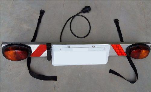 Sinalizador de placa para bike Metalini