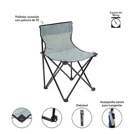 Cadeira Araguaia Premium Cinza
