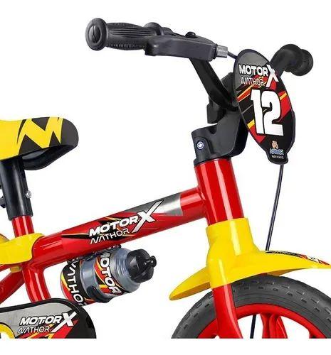 BICICLETA ARO 12 MOTOR X selim de Pu
