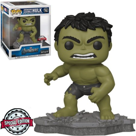 Funko Pop Marvel Avengers Hulk 585 Deluxe Exclusivo