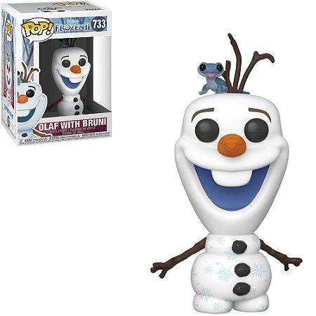 Funko Pop Disney Frozen II Olaf With Bruni 733