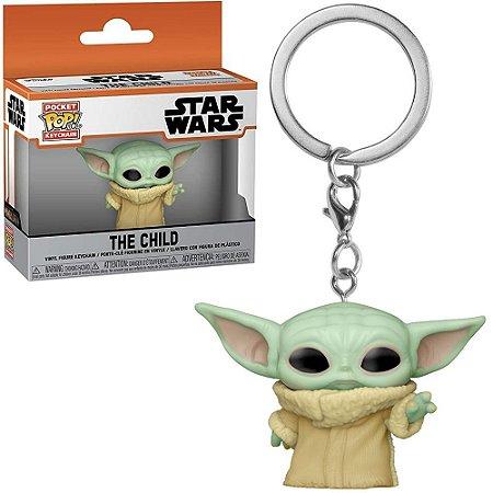 Chaveiro Funko Pocket Pop Keychain Star Wars The Child Baby Yoda