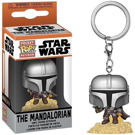 Chaveiro Funko Pocket Pop Keychain Star Wars The Mandalorian