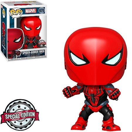 Funko Pop Marvel Spider Armor MKIII 670 Exclusive