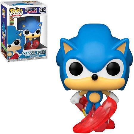 Funko Pop Sonic The Hedgehog Classic Sonic 632
