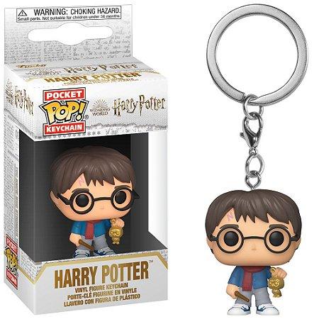 Chaveiro Funko Pocket Pop Keychain Harry Potter - Harry Potter Holiday