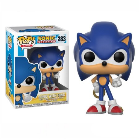 Funko Pop Games Sonic - Sonic With Ring 283