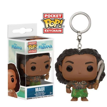 Chaveiro Funko Pop! Disney: Maui (Moana)