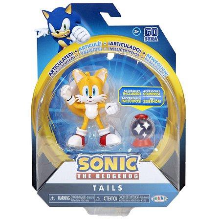 Sonic Sega Boneco Articulado Tails Jakks Pacific