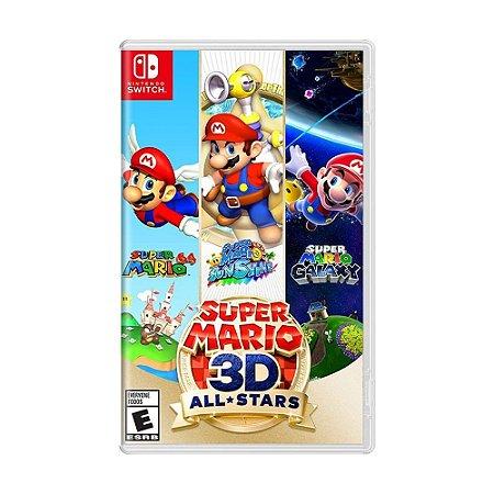 Jogo Super Mario 3D All Stars para Nintendo Switch