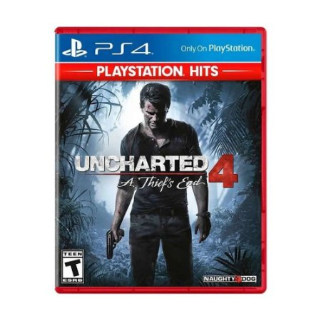 Jogo Uncharted 4: A Thief's End - Hits - PS4