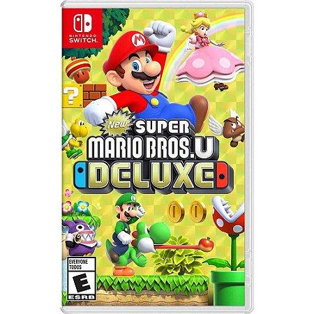 Jogo Super Mario Bros U Deluxe