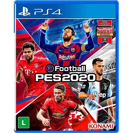 Jogo eFootball Pro Evolution Soccer 2020 (PES 2020) - PS4