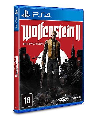 Jogo Wolfenstein 2: The New Colossus - PS4