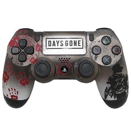 Controle Dualshock 4 - PS4 (Personalizado - Days Gone)