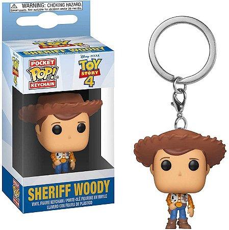 Chaveiro Funko Pop! Xerife Woody