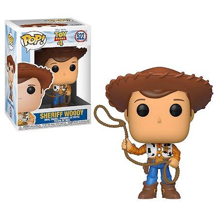 Funko Pop! Toy Story 4 - Xerife Woody #522