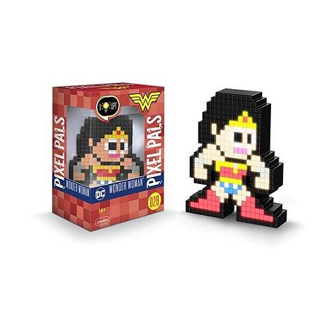 Luminária Pixel Pals - DC - Mulher Maravilha
