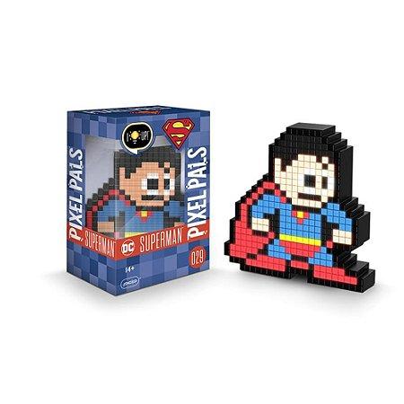 Luminária Pixel Pals - DC - Superman