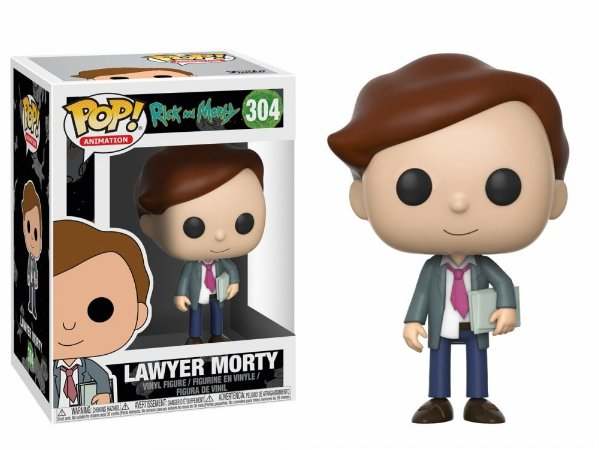 Funko Pop! Rick and Morty - Lawyer Morty #304