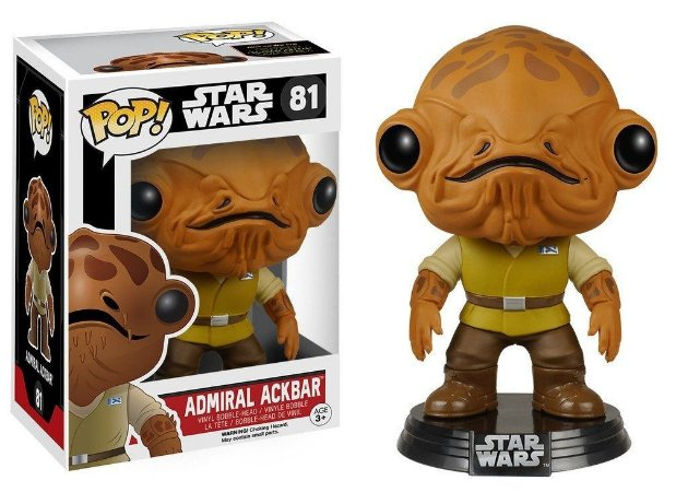 Funko Pop! Star Wars The Force Awakens - Admiral Ackbar #81