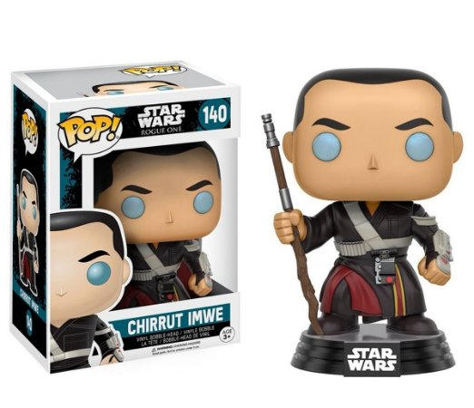 Funko Pop! Star Wars Rogue One - Chirrut Imwe #140