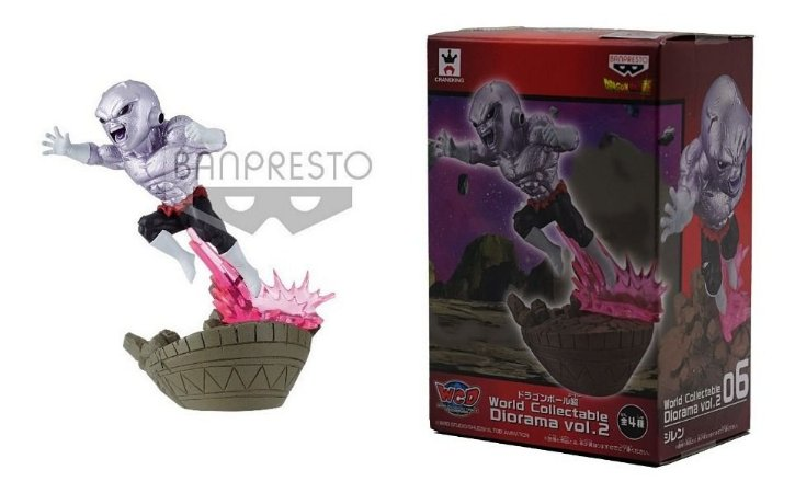 Action Figure WFC - Dragon Ball Super -  Jiren