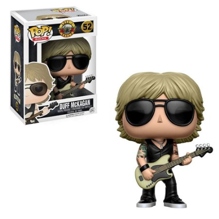 Funko Pop! Guns and Roses - Duff Mackagan # 52