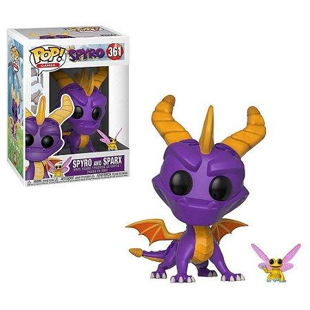 Funko Pop! Spyro - Spyro and Sparx #361