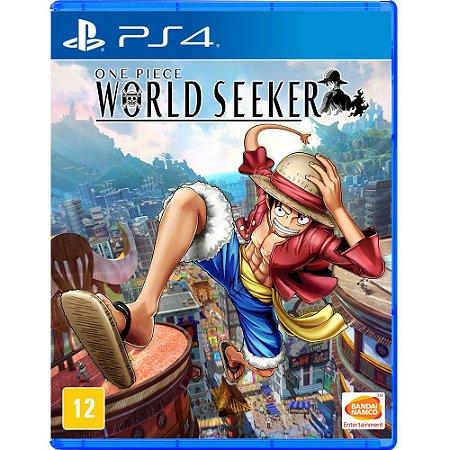 Jogo One Piece World Seeker - PS4