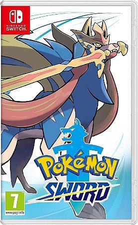 jogo Pokemon Sword - Nintendo Switch