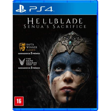 Jogo - Hellblade: Senua's Sacrifice - PS4