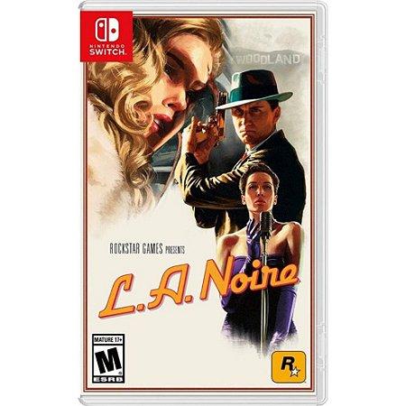 Jogo La Noire - Nintendo Switch