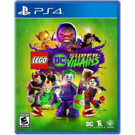 Jogo Lego Dc Super Villains - Ps4