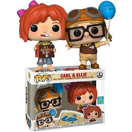 Funko Pop! Disney - UP - Carl e Ellie #02 ( Exclusivo Comic Con)